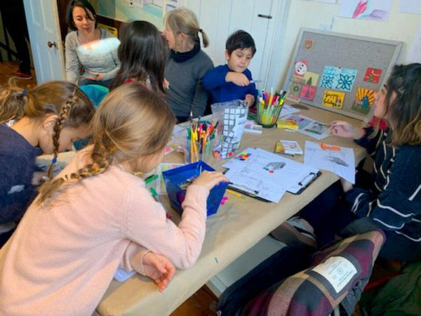 NYACK - FREE! Hop into Art Family Workshop @ The Edward Hopper House Museum and Study Center