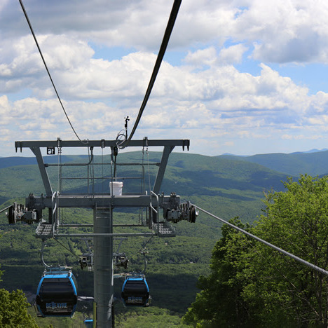 Scenic Gondola Rides & Hiking at Belleayre Mountain in Highmount, NY