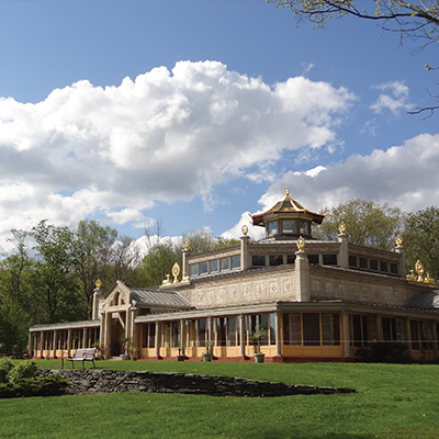 FREE Kadampa Buddhist World Peace Temple Grounds & Nature Trails in Glen Spey, NY