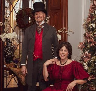 Mr. Dickens Tells A Christmas Carol at Bartow-Pell Mansion Museum in The Bronx