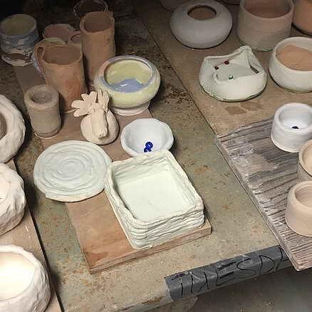 Children's Pottery at Garrison Art Center in Putnam County, NY