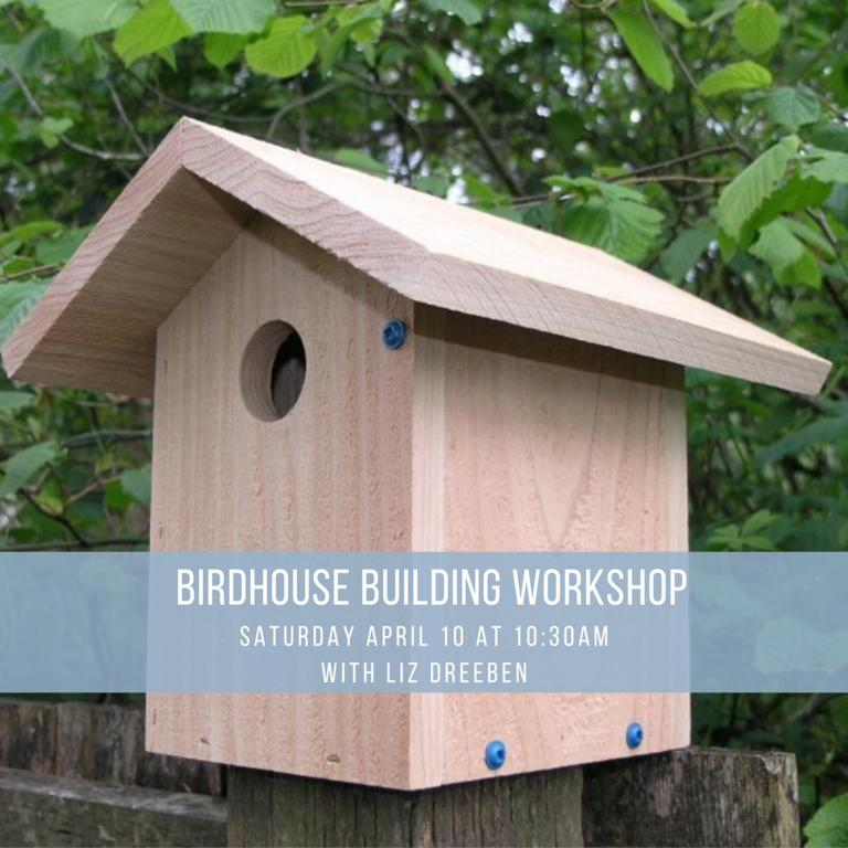 Birdhouse Building Workshop! at Untermyer Park & Gardens in Yonkers, NY
