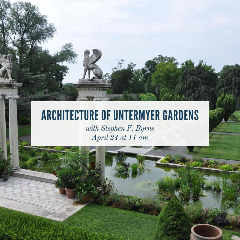 The Architecture of Untermyer Gardens with Stephen F. Byrns at Untermyer Park & Gardens in Yonkers, NY
