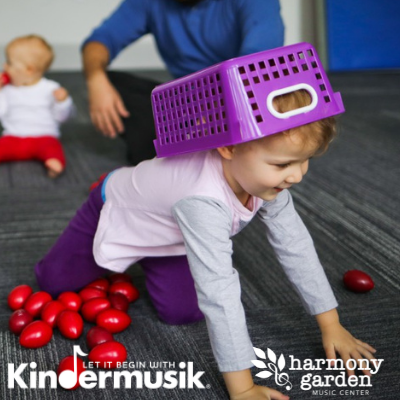 Kindermusik for Ages 2 & 3 at The Harmony Garden Music Center in Hopewell Junction, NY