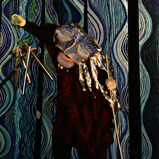 2021 Esopus Creek Puppet Suite at The Arm-of-the-Sea Tidewater Center in Saugerties, NY