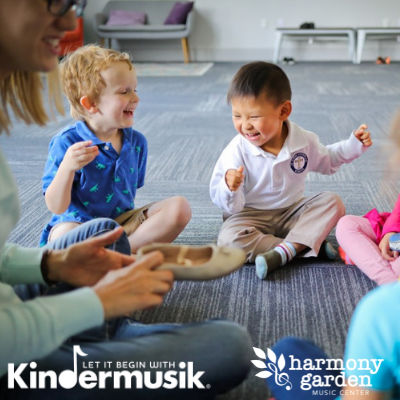 Kindermusik for Ages 4-6 at The Harmony Garden Music Center in Hopewell Junction, NY