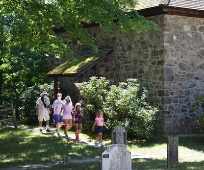 Tours at Historic Huguenot Street National Historic Landmark District in New Paltz, NY
