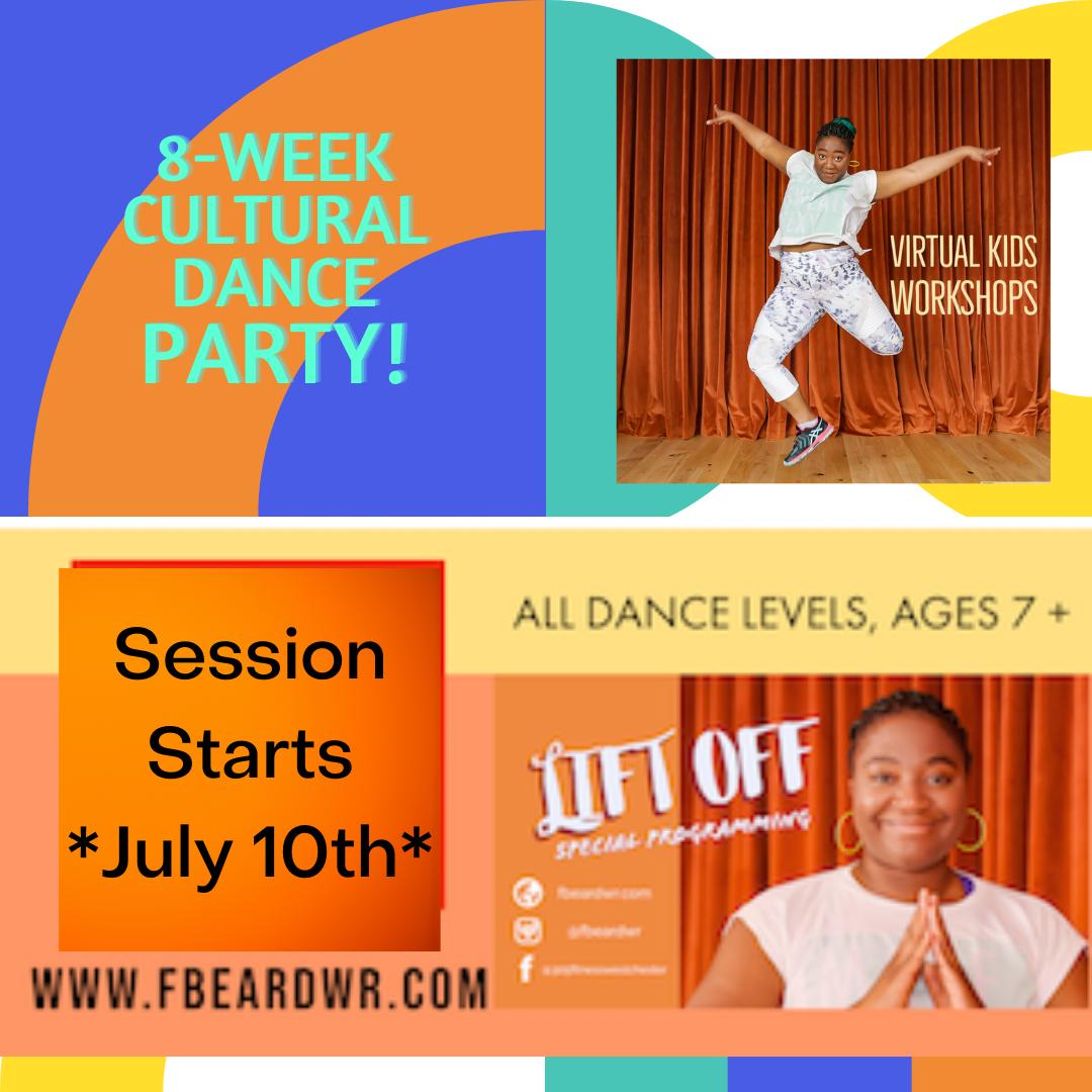 OnlineSummer Dance Program! with Lift Off!
