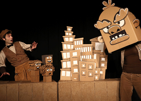 Cardboard Explosion with Brad Shur! at The Center for Performing Arts at Rhinebeck
