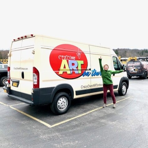 FREE! Neighborhood Children's Event with Crazy Over ART on Tour in Poughkeepsie